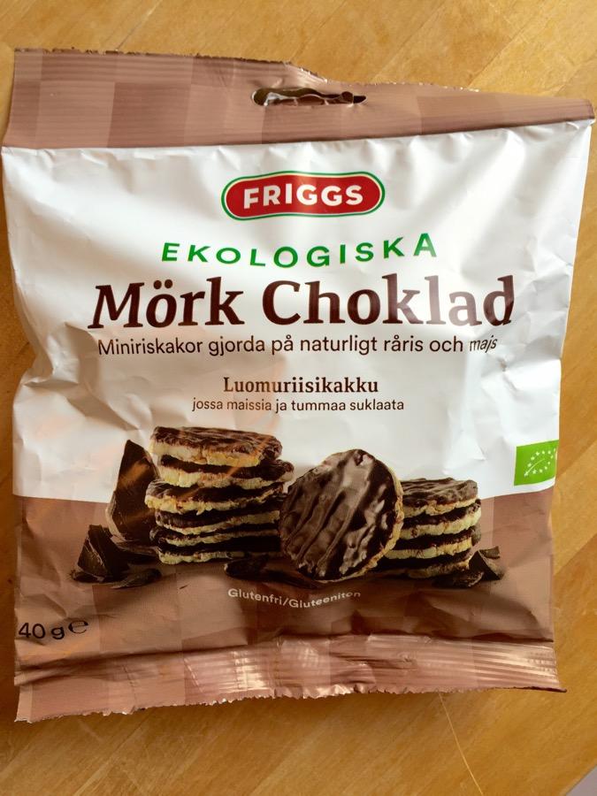 friggs miniriskakor choklad