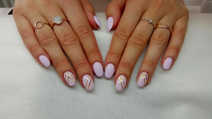 salong hårklippet naglar