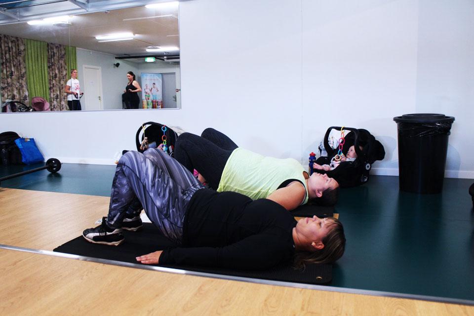 träning för slappa lår